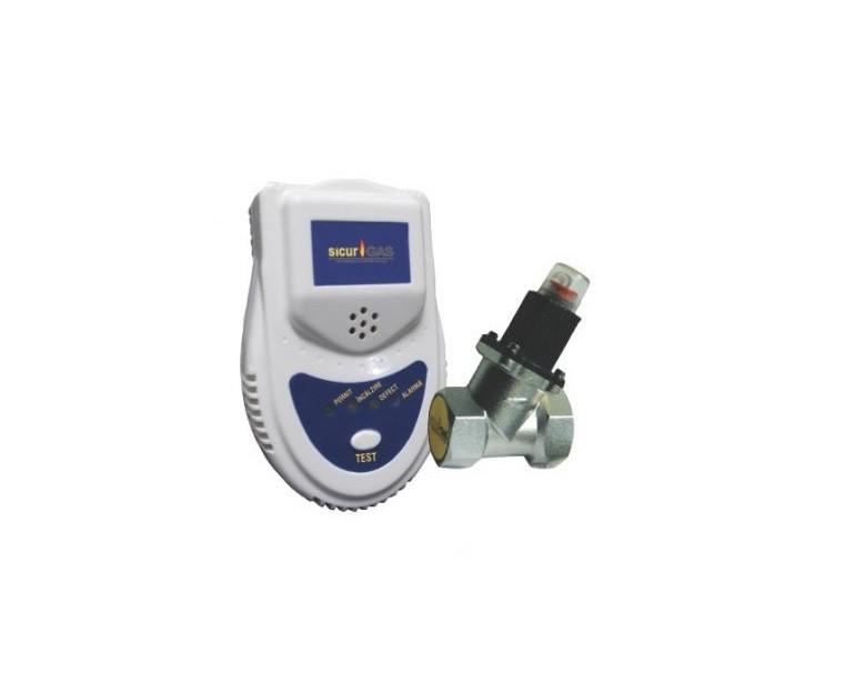 Detector gaz cu electrovana 3/4 SICURGAS