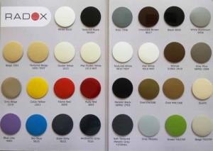 Paleta culori Radox