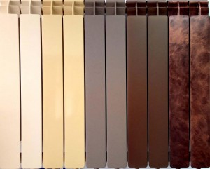 poza Elementi aluminiu colorati Global Oscar Tondo H1800