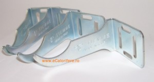 Poza produs Set console fixare calorifere din  aluminiu