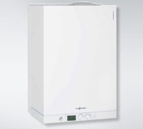 poza Centrala termica condensatie Viessmann Vitodens 111-W 26KW cu boiler 46 l