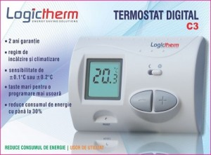 poza Termostat de ambient digital  Logictherm C3 RF