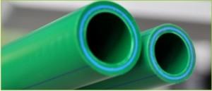 poza Teava ppr verde cu fibra compozita 32x4,4