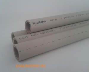 poza Teava ppr cu fibra compozita 25mm GRI