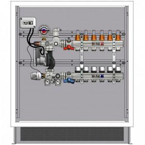 poza Pachet complet sistem incalzire in pardoseala IVAR - 110mp pe doua nivele