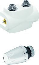 poza Set robinet termostatic bi-tubular Heimeier Multilux 1/2
